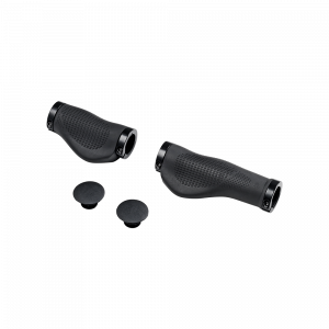 Black Handlebar Grip Set - MATE X
