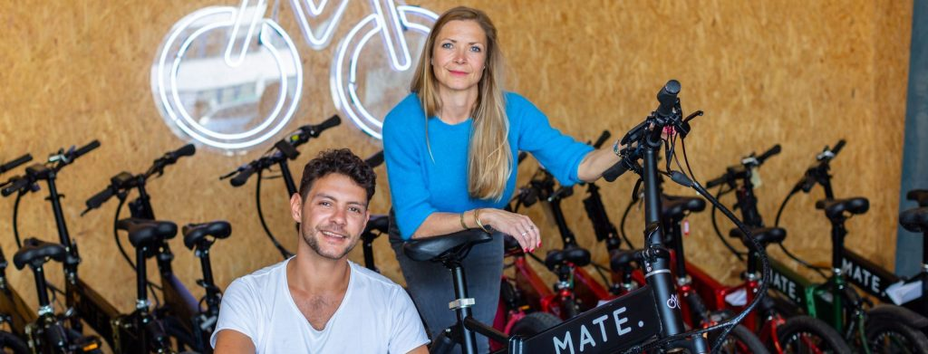 Julie and Christian, founders of Mate